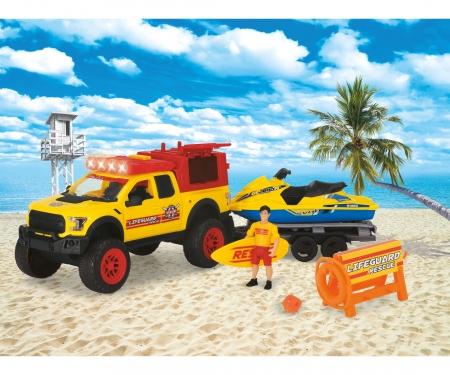 DICKIE Toys Playlife - Strand Rettungsset