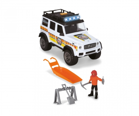 DICKIE Toys Playlife - Winter Rettungs Set
