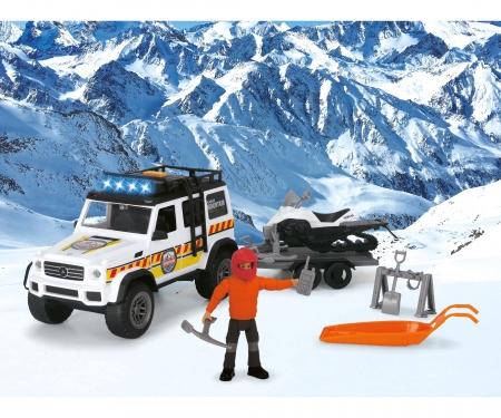 DICKIE Toys Playlife - Set de sauvetage en montagne