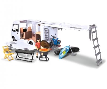 DICKIE Toys SET CARAVANA CAMPER