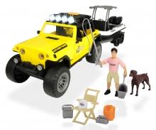 DICKIE Toys SET DE PESCA CON JEEP