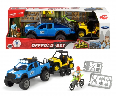 DICKIE Toys Offroad Set