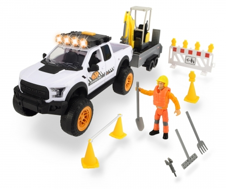 DICKIE Toys Playlife-Road Construction Set