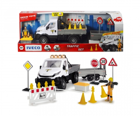 DICKIE Toys Playlife-Traffic Set