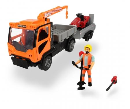 DICKIE Toys SET MANTENIMIENTO JARDINES, 37 CM