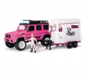 DICKIE Toys Playlife-Horse Trailer Set pink