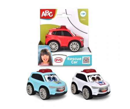 DICKIE Toys BYD VEHICULO RESCATE 9 CM, 3 SURT