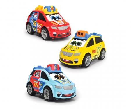DICKIE Toys BYD COCHE CIUDAD 14,5 CM, 3 SURT