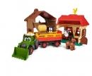 DICKIE Toys GRANJA HAPPY CON TRACTOR Y ANIMALES CON SONIDOS
