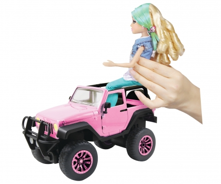 DICKIE Toys RC Pink Driverz Jeep Wrangler