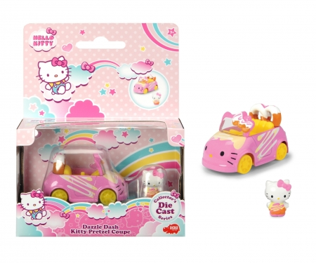 DICKIE Toys VEHÍCULO PRETZEL CON FIGURA HELLO KITTY