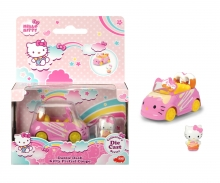 DICKIE Toys Hello Kitty Dazzle Dash Kitty Pretzel