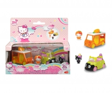DICKIE Toys Hello Kitty Orange + Chocolat Ice Cream