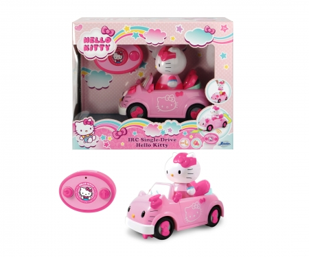 DICKIE Toys Hello Kitty Infrarot Cabriolet