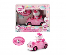 DICKIE Toys Hello Kitty Infrarot Cabriolet