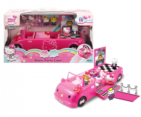 DICKIE Toys Hello Kitty Dance Party Limo