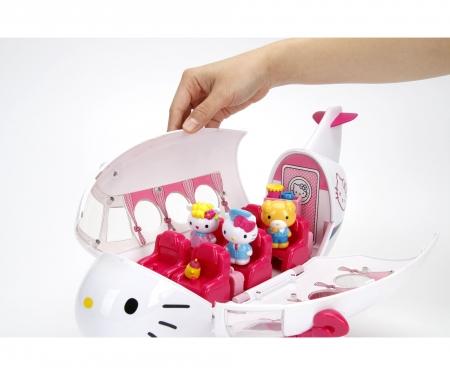 DICKIE Toys Hello Kitty Jet Plane Playset