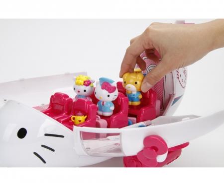 DICKIE Toys HELLO KITTY- AVIÓN CON FIGURAS