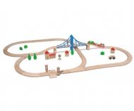 eichhorn Eichhorn Train, Train Set with Bridge
