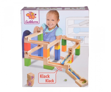 Eichhorn Large Marble Run Construction Set