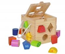 eichhorn Eichhorn Shape Sorting Cube