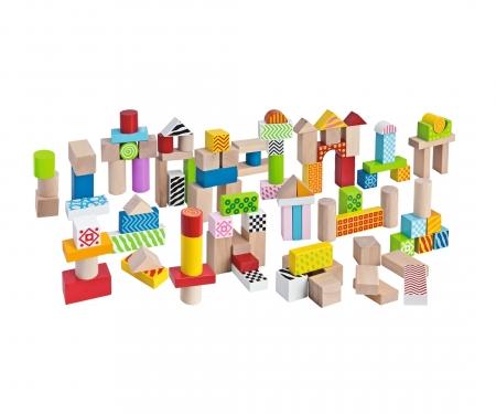 eichhorn Eichhorn Color, Wooden Building Blocks