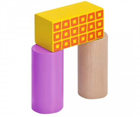 eichhorn Eichhorn Color, Holzbausteine