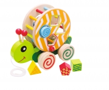 eichhorn Eichhorn Color, Pull-along Stacking Animal