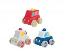 eichhorn Eichhorn Squeaky Cars, 3-ass.