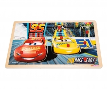 Cars 3 Steckpuzzle