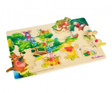 Winnie the Pooh Pin Puzzle