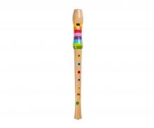 eichhorn EH Musik Holz-Flöte, 32cm