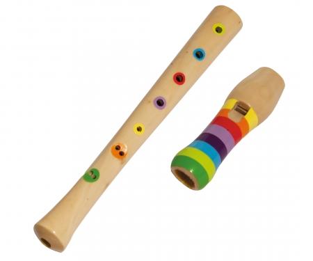 eichhorn Eichhorn Musik Holz-Flöte, 32cm