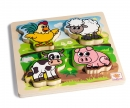 eichhorn EH Feel-Puzzle with Fabric, 5 pcs.