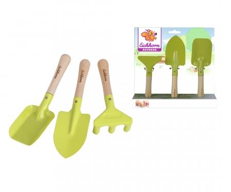 Eichhorn Outdoor, Gartenwerkzeug, 3-tlg.