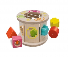 "Eichhorn ""Barrel"" shape sorter"