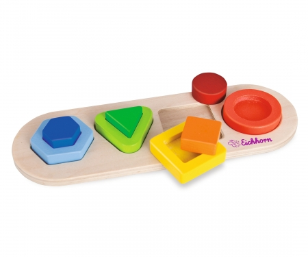 eichhorn Eichhorn 3D Lift Out Puzzle, Forms