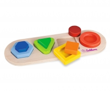 Eichhorn 3D Lift Out Puzzle, Forms