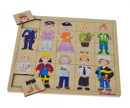 eichhorn Eichhorn Lift Out Puzzle, Mix and Match