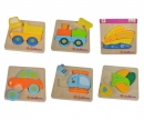 EH Mini Puzzle, Fahrzeuge