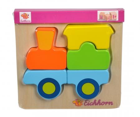 Eichhorn Mini Puzzle, Fahrzeuge, 6-sort.