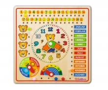 Eichhorn Pin Puzzle, Calender Watch