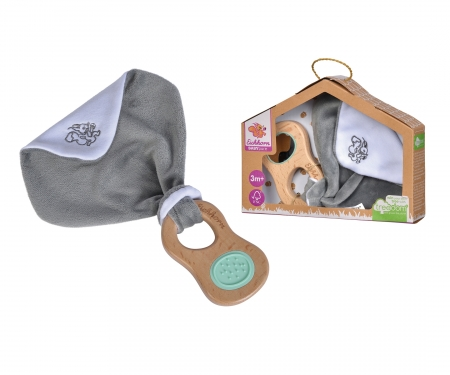 eichhorn EH Baby Pure Grasping Toy with Doudou