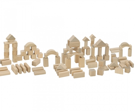 Eichhorn Natural Wooden Blocks