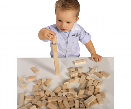 eichhorn Eichhorn Natural Wooden Blocks