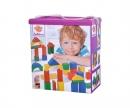 eichhorn EH Coloured Wooden Blocks