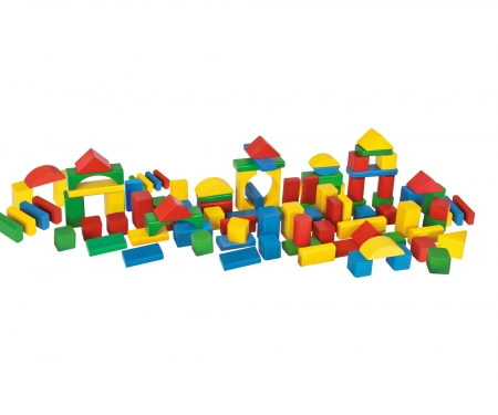 eichhorn EH Coloured Wooden Blocks