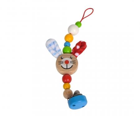 eichhorn Eichhorn Baby, Dummy Chain with Clip