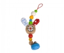 eichhorn Eichhorn Baby, Dummy Chain with Clip