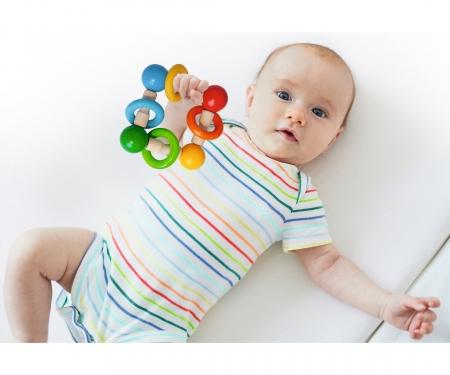 eichhorn Eichhorn Baby, Greifling mit Ringen